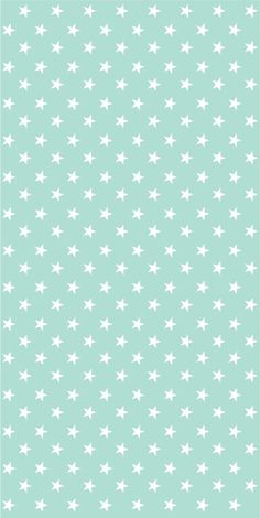 Self-adhesive aqua with white stars by Yaelyaniv Wallpaper Stickers, Self Adhesive Wallpaper, Fabric Wallpaper, Girl Nursery, Nursery Ideas, Cement Walls, Big Girl Rooms, Tile Patterns, Interior Decorating