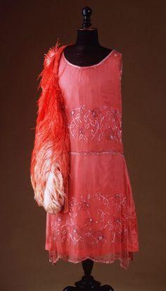 Evening dress, c. 1925.