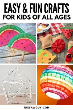 Super diy projects for kids girls fun boys 39 ideas Kids Woodworking Projects, Diy Projects For Kids, Arts And Crafts Projects, Project Ideas, Woodworking Furniture, Furniture Plans, Craft Ideas, Fun Easy Crafts, Fun Crafts For Kids