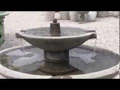 Jensen 2 tiered garden fountains by Campania International from TheGarde. Tiered Garden, Water Element, Garden Fountains, Ponds, Outdoor Decor, Diy Garden Fountains, Lakes, Garden Water Fountains, Pools