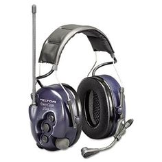 Peltor Powercom Hearing Protection Two-Way Radio Headset, 22 Channels. Details at http://youzones.com/peltor-powercom-hearing-protection-two-way-radio-headset-22-channels-2/