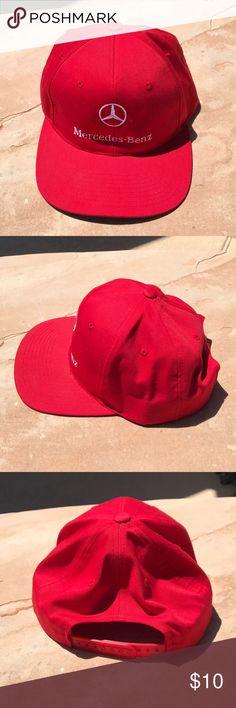 1960d148a32 Red Mercedes Benz cap. Never worn. Never worn Red Mercedes Benz baseball cap .