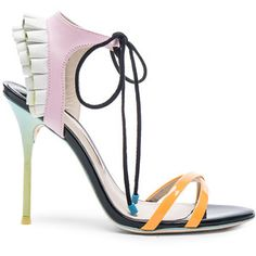Sophia Webster Leather Maribel Frill Heels