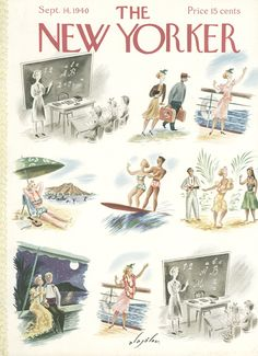 The New Yorker - Saturday, September 14, 1940 - Issue # 813 - Vol. 16 - N° 31 - Cover by Constantin Alajalov