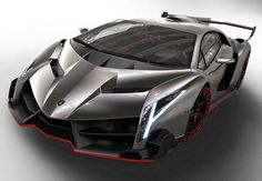 It costs 10 times more than a regular Lamborghini, but only nine will be built - and none will come with a roof. Meet the new Lamborghini Veneno Roadster. Lamborghini Veneno, Carros Lamborghini, Koenigsegg, Gold Lamborghini, Ferrari Laferrari, Lamborghini Concept, Latest Lamborghini, Lamborghini Pictures, Lamborghini Models
