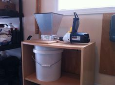 Drill Powered Grain Mill Setup - Home Brew Forums