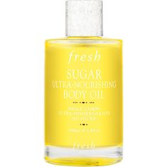Fresh Sugar Ultra-Nourishing Body Oil ($48) ❤ liked on Polyvore featuring beauty products, bath & body products, body moisturizers, fillers, beauty, makeup, & - fillers - beauty, cosmetics and body moisturizer