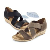Cross-Strap Sandals by Comfortiva®