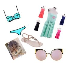"""""""Day at the beach"""" by apsprinkles on Polyvore featuring IPANEMA and Fendi"""