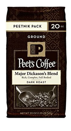 Peet's Coffee and Tea Ground, Major Dickason's Blend, 20 Ounce ** You can find more details by visiting the image link.