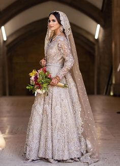 Wedding + Reception of Poonam & Sanjay by Asaad Images Asian Bridal Wear, Asian Bridal Dresses, Asian Wedding Dress, Pakistani Wedding Outfits, Indian Bridal Outfits, Pakistani Bridal Dresses, Pakistani Wedding Dresses, Walima Dress, Pakistani Gowns