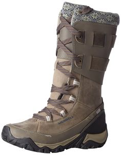 Amazon.com: Merrell Women's Polarand Rove Peak Waterproof Winter Boot: Shoes