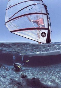 Watersport #Windsurfing