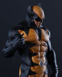 Logan Wolverine, Statues, Batman, Comic Books, Superhero, Game, Comics, Fictional Characters, Drawing Cartoons