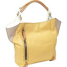 orYANY Aquarius Color Block Shopper  - Custard Multi - via eBags.com!