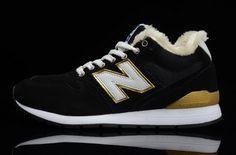Liquidation en ligne New Balance 2014 NB 996 Homme Chaussures Woolen Noir Blanche Or France La Vente De Sortie
