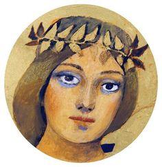 Vierge Visage - Arcabas