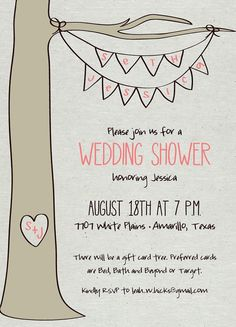 Outdoor/Backyard Party Invitation  2 different by apinchoflovely, $2.50