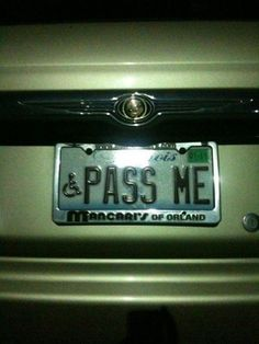Here is the collection of funny and stupid license plates. Funny Number Plates, Funny License Plates, Vanity License Plates, License Plate Art, Licence Plates, Vanity Plate, Personalized Plates, Hood Ornaments, Car Humor