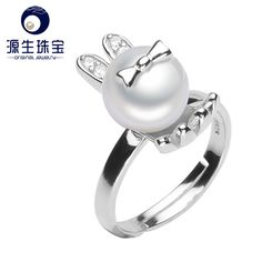 Aliexpress.com : Buy 100% real freshwater pearl ring for women 925 sterling silver adjustable ring 9  9.5mm AAAA natural pearl jewelry  YSETB003 from Reliable ring meaning suppliers on pearls by yuansheng