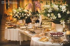 Elizabeth and Michael would describe their chic wedding at Le Windsor Ballrooms as an elegant affair with urban downtown flair. Wedding Food Catering, Wedding Food Stations, Wedding Reception Food, Catering Ideas, Chic Wedding, Elegant Wedding, Fall Wedding, Wedding Ideas, Cinderella Wedding