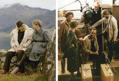 On the set of Autumn Sonata 1978
