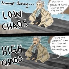 +Dishonored Low vs High Chaos+ by HotaruRed