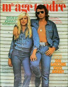 Mlle Age Tendre n°82 - sept. 1971 - Sylvie et Johnny aujourd'hui