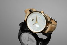 MVMT Gold Pearl Leather watch for women - $115 - love this one!  http://www.mvmtwatches.com/collections/women/products/gold-pearl-leather