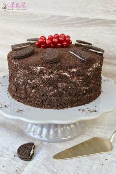 ullatrulla backt und bastelt: Die beste Torte, die ich je gebacken habe (sagt mein Mann)   Rezept für eine Oreo-Torte (Best Food Pins)