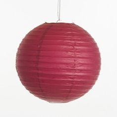 Lampion - Framboos roze (30, 40 & 50 cm)