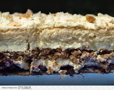 Halinka – Zjem to! Sweet Recipes, Cake Recipes, Polish Recipes, Cookie Desserts, Sweet And Salty, Cake Cookies, Sweet Tooth, Sweet Treats, Food And Drink