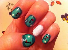 24 Best Golf Nail Designs Images In 2015 Manicure Polish Feet Nails