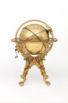 Mechanical globe clock, Georg Roll, Germany, 1584