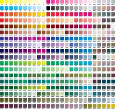 CMYK 색상표 Pantone Cmyk, Pantone Color, Interaktives Design, Flat Color Palette, Leaflet Design, Color Names, Color Pallets, Color Theory, Pastel Colors