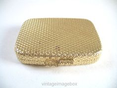 Revlon Love Pat powder compact 1960s vintage by VintageImageBox