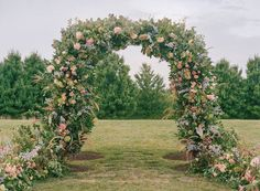 Whimsical, outdoor wedding ceremony decor - floral and greenery ceremony arch - Check our more floral wedding inspiration on WeddingWire! {Jodi & Kurt Photography} Ceremony Arch, Wedding Ceremony Decorations, Altar Decorations, Centerpieces, List Of Flowers, Arch Flowers, Wedding Flower Arrangements, Wedding Flowers, Floral Wedding