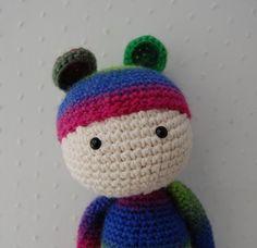 bear doll crochet stuffed animal toy by emilylbaum on Etsy