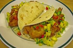 Beer Batter Fish Tacos With Mango Salsa Recipe on Food52 recipe on Food52