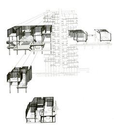 The Colonnade Condominiums by Paul Rudolph