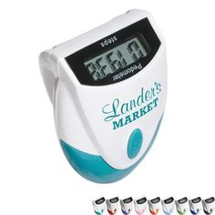 Designer Top View Pedometer | Health Promotions Now