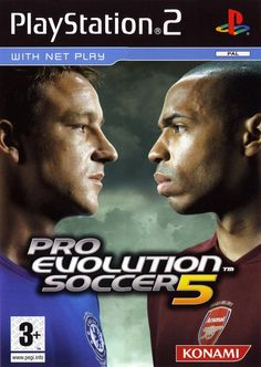 Pro Evolution Soccer 5 [PS2] The best version of Pro Evo.