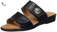 Ganter  SONNICA, Weite E, Mules femme - Noir - Noir (0100), 40 - Chaussures ganter (*Partner-Link)