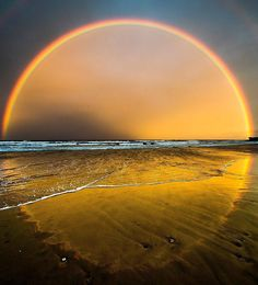 Have you seen a perfect rainbow like this before?Have you seen a perfect rainbow like this before? Rainbow Photography, Nature Photography, Happy Photography, Travel Photography, All Nature, Amazing Nature, Cool Photos, Beautiful Pictures, Album Photo