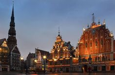The House of the Blackheads in Riga.