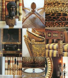 Carolyne Roehm vignette interior design elements