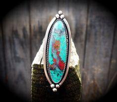 Amazing Colorful Sonora Sunrise Ring / by SilverRavenStudio
