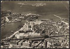 Marseille. Le quartier du Vieux Port a été en partie rasé.