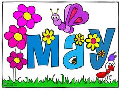 Free Month Clip Art | Month of may Flowers Clip Art Image ...