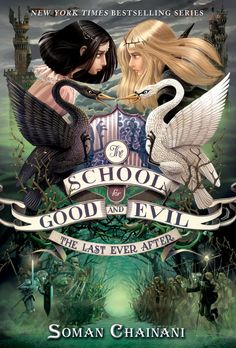 It's finally here!! MTV has just revealed the cover for THE LAST EVER AFTER, the final book in Soman Chainani's SCHOOL FOR GOOD AND EVIL series!!